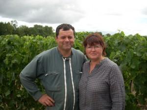 Patricia et Paul BEUNARD, vignerons à Blaye