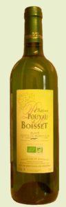Pouyau de Boisset blanc, Blaye Côtes de Bordeaux